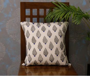 "Dabu Cotton Cushion Cover (16""x16"")"