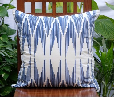 """Chevron Cotton Cushion Cover (20""""x20"""")"""