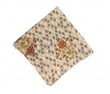 Multicolor Printed Cotton Flax Kitchen Napkin