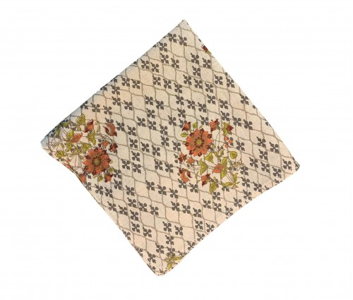 Multicolor Printed Cotton Flax Kitchen Napkin