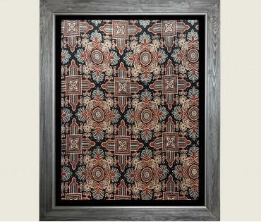 Textile Pattern Wall Art 1 | 21x27 (inch)