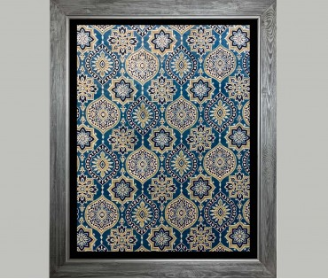 Textile Pattern Wall Art 2 | 21x27 (inch)