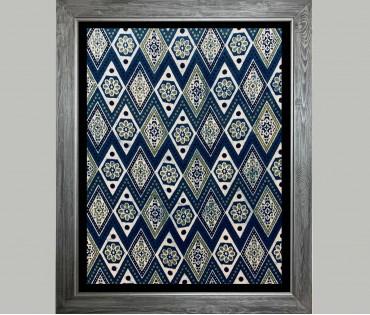 Textile Pattern Wall Art 3 | 21x27 (inch)