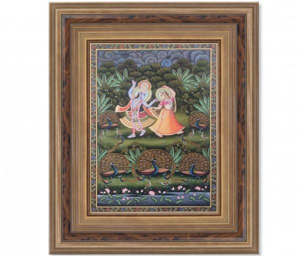 Pichwai Painting On Cloth | Radha Krishna | 24x36 Inch